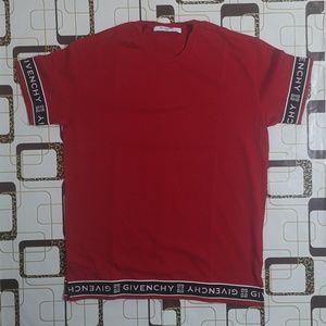 Givenchy men red t shirt